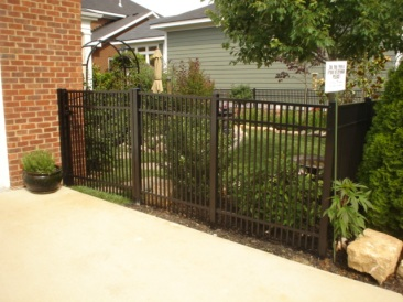 Double Picket Ornamental Fence