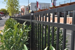 Flat Top Ornamental Fence