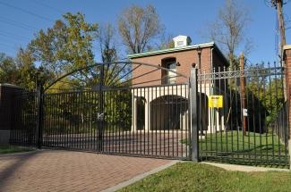 Mellwood Pump Station Gates & Ornamental