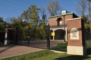 Custom Ornamental Gates at Mellwood Ave. Pump Station