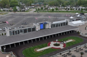 Temporary Fence Panels for Kentucky Derby 139