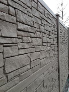 SimTek Composite Stone Fence