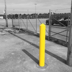 Safety Yellow Bollard Sleeve