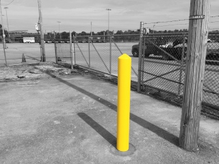 Safety Yellow Bollard Sleeve