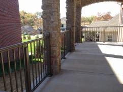 Bronze Aluminum Handrail