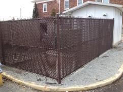 Brown Privacy Slats