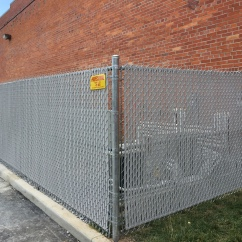 Gray Privacy Slats