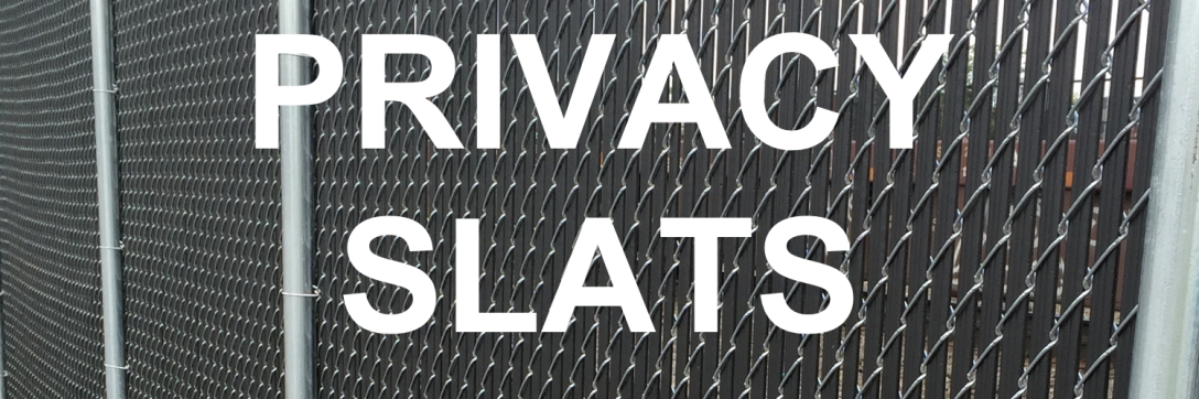 PVC Chain Link Privacy Slats