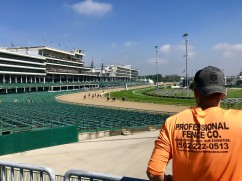 Taking In A Race At Churchill Downs